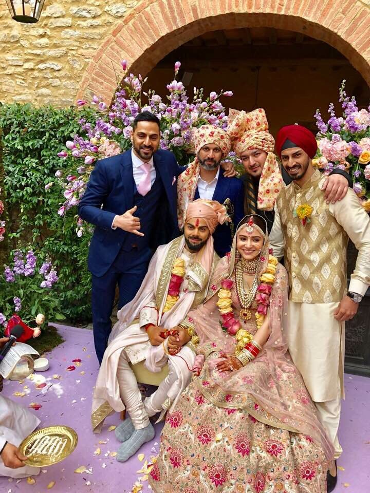Virat Anushka Sharma Wedding pics,Virat Anushka Sharma Wedding images