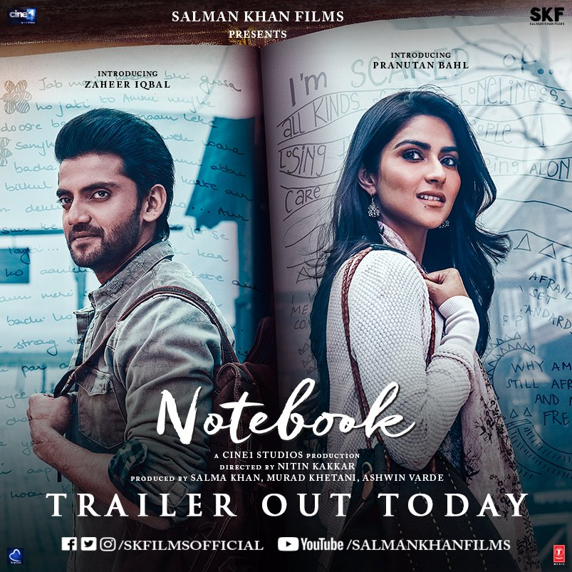 Watch Notebook Trailer Youtube Of Pranutan Bahl And Zaheer Iqbal's Love Story, Watch Notebook Trailer Youtube,Watch Notebook Trailer Youtube Pranutan Bahl,Watch Notebook Trailer Youtube Zaheer Iqbal's,Pranutan Bahl And Zaheer Iqbal's Love Story images,Pranutan Bahl And Zaheer Iqbal's Love Story news,Zaheer Iqbal's Love Story images,Notebook actress images,Notebook actor images,Notebook actress Zaheer Iqbal images