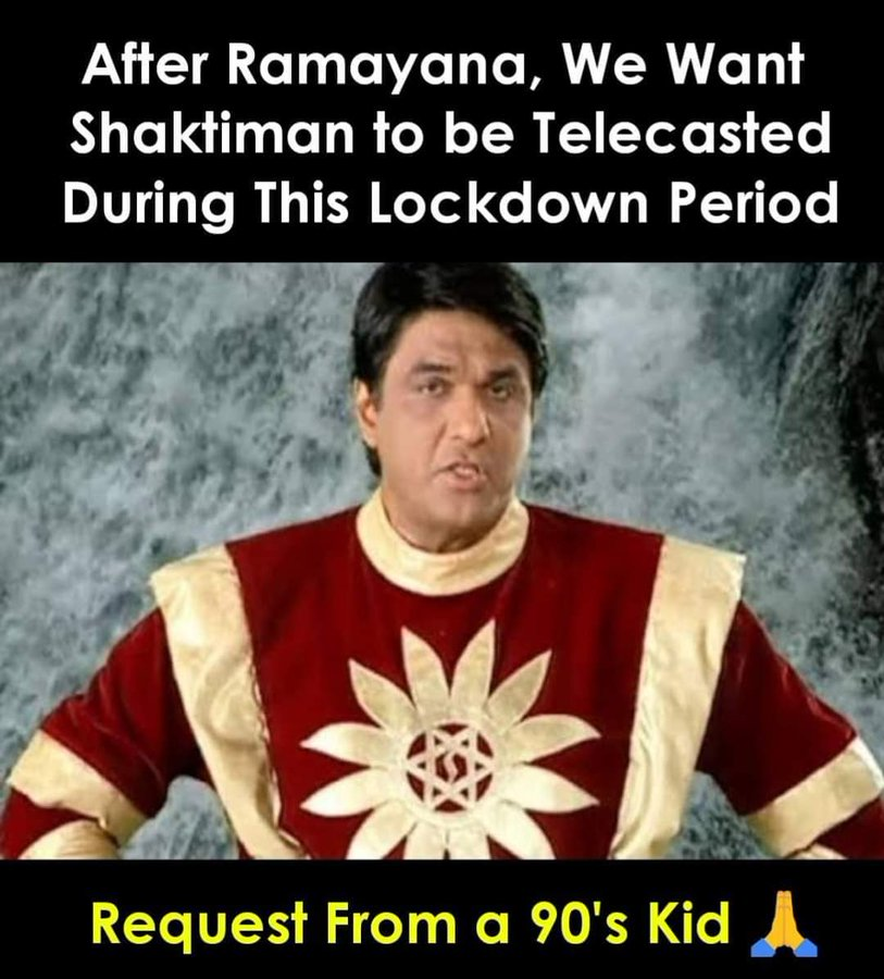 Shaktimaan to Telecast on  Doordarshan From April 2020