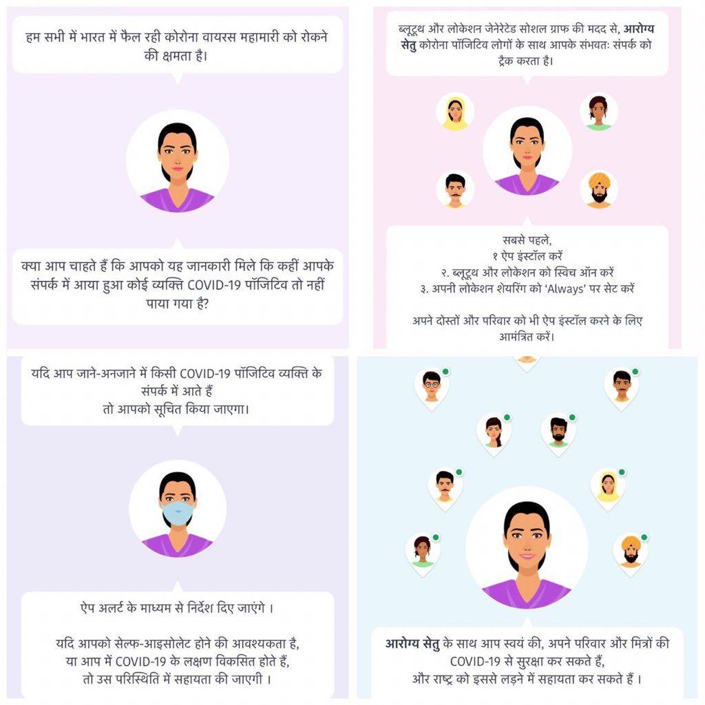 Download Aarogya Setu App For Android and iOS