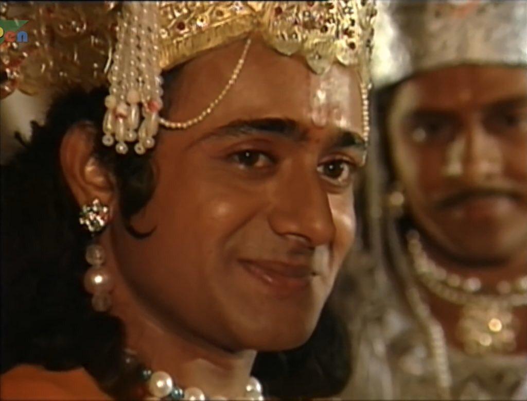 Shri Krishna  in BR Chopra's Mahabharat, Nitish Bharadwaj  Shri Krishna in BR Chopra's Mahabharat, Nitish Bharadwaj  Shri Krishna  Mahabharat wallpaper images