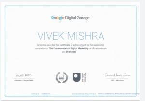 Get certified in the Fundamentals of Digital Marketing