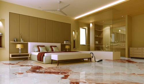 Marble flooring cost per sq ft in India