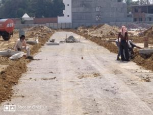 construction of bituminous road-Process in Bituminous Road Construction