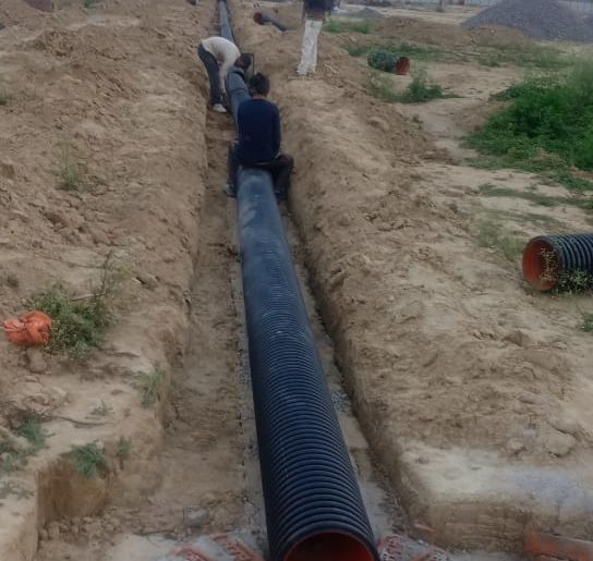 DWC HDPE Corrugated Pipe,HDPE Double Wall Corrugated Pipes,DWC HDPE Corrugated Pipe for Sewerage System