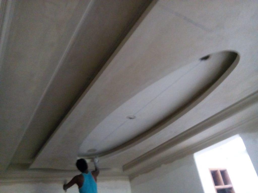 POP PUNNING,POP Wall Punning Measurement,Gypsum Plaster Wall Punning,POP Wall Punning application