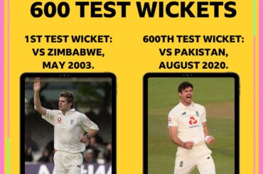 James Anderson Test wickets,England James Anderson Test wickets,James Anderson bowling Records,James Anderson Test wickets 600