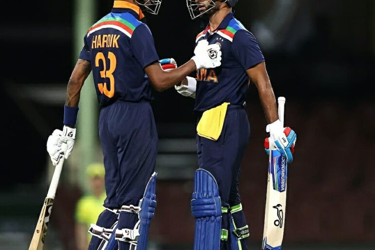 Hardik Pandya India vs Australia 2020