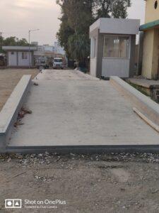 Concrete road construction Steps