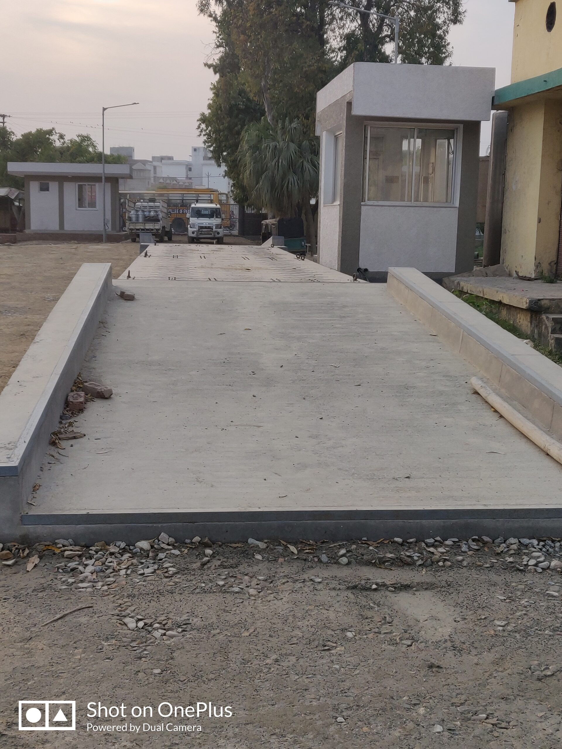 Concrete road construction Steps